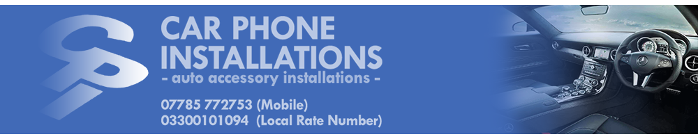 CAR PHONE INSTALLATIONS - NEWBURY - BERKSHIRE